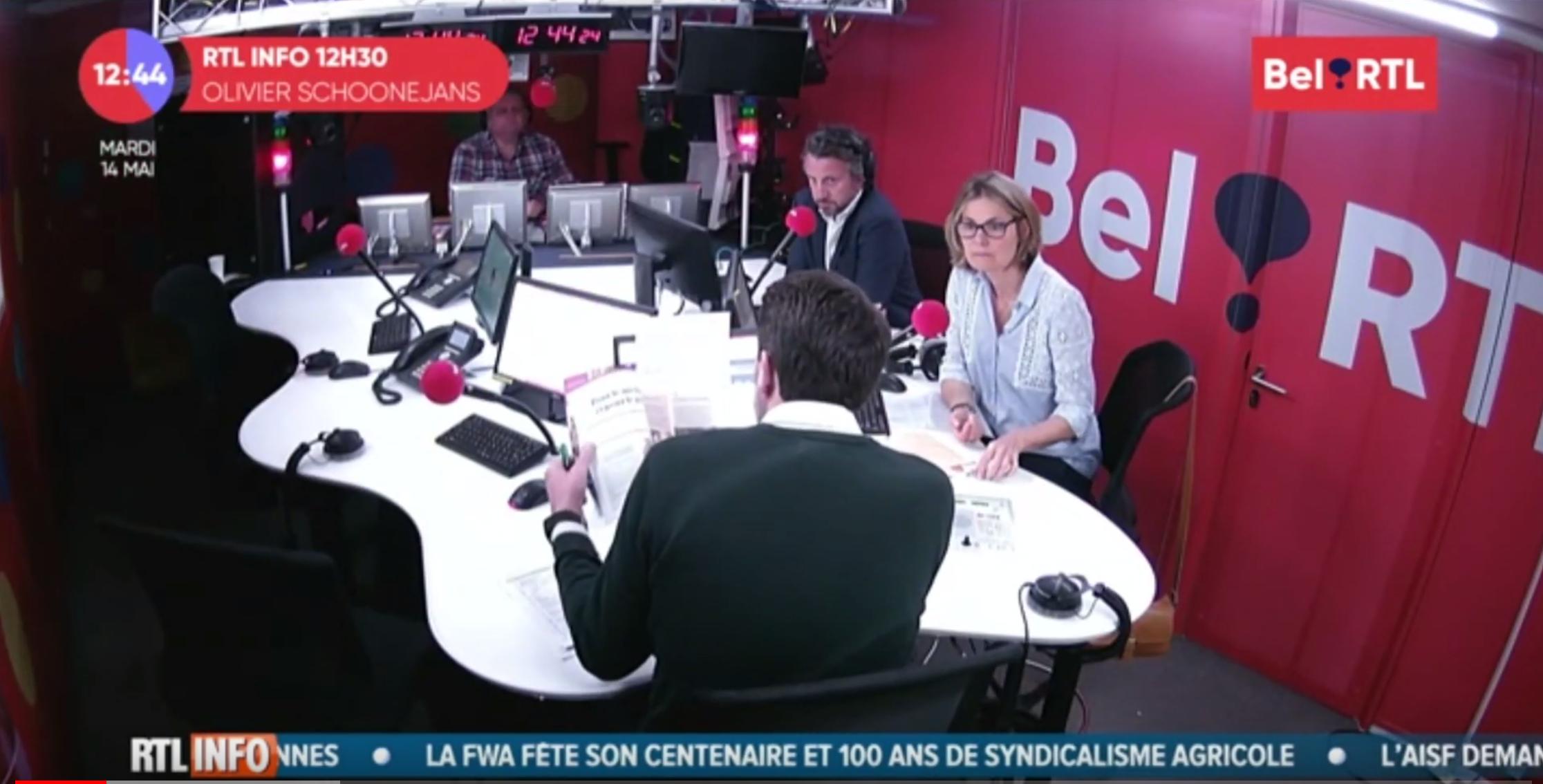 Mon interview à Bel RTL